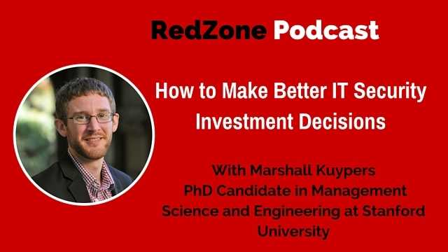 How to Make Better IT Security Investment Decisions | RedZone