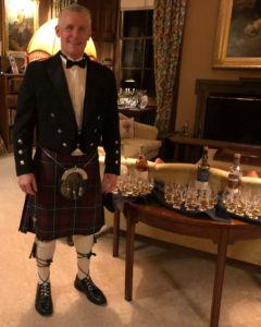 Bill Murphy in Scotland at Dan Pena's 2018 QLA Seminar